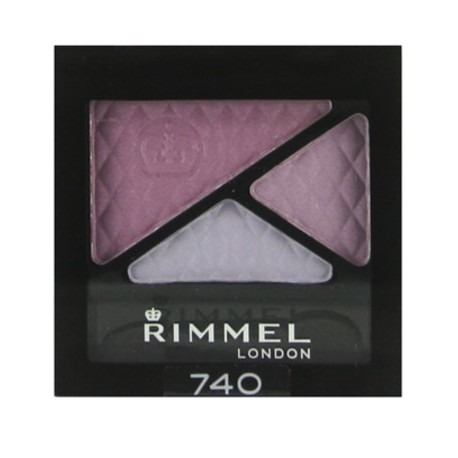 RIMMEL GLAM EYES TRIO EYE SHADOW