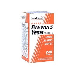 HEALTH AID - SUPER BREWERS YEAST - 240tabs