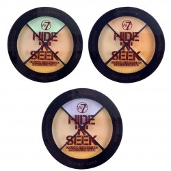 W7 HIDE 'N' SEEK COLOUR CORRECTING CONCEALER QUAD