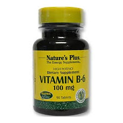 NATURE'S PLUS - Vitamin B-6 100mg - 90tabs