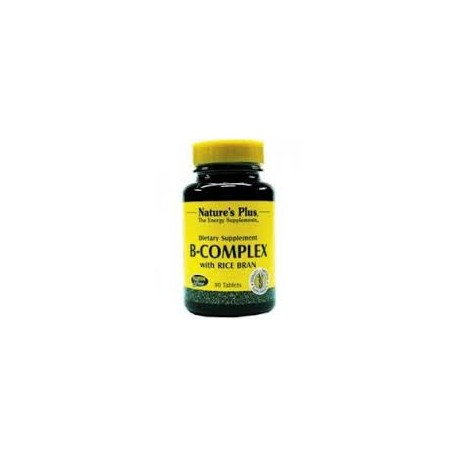 NATURE'S PLUS - B-Complex with Rice Bran - 90tabs