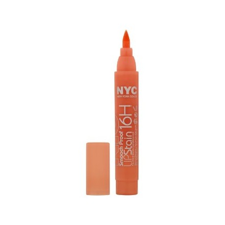 NYC SMOOCH PROOF LIP STAIN 16H