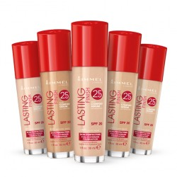 Rimmel Lasting Finish 25hour Foundation with   comfort serum(30ml)